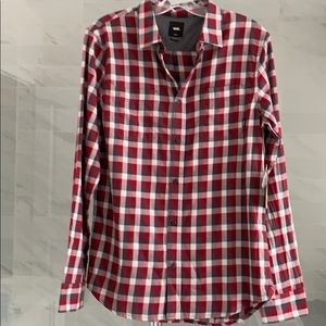 New Van's Classic Flannel Button up shirt
